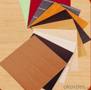 Melamine MDF in Many Wood Grain Colors for Furniture and Decoration