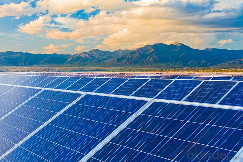 36V Monocrystalline Solar Panel 260W with TUV Certificate