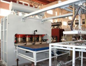 1200T Both Sides Sticker Hot Press Machine