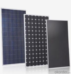 36V Monocrystalline Solar Panel 185W with TUV Certificate