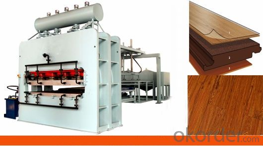 1600t Hot Press Machine for Furniture Plate