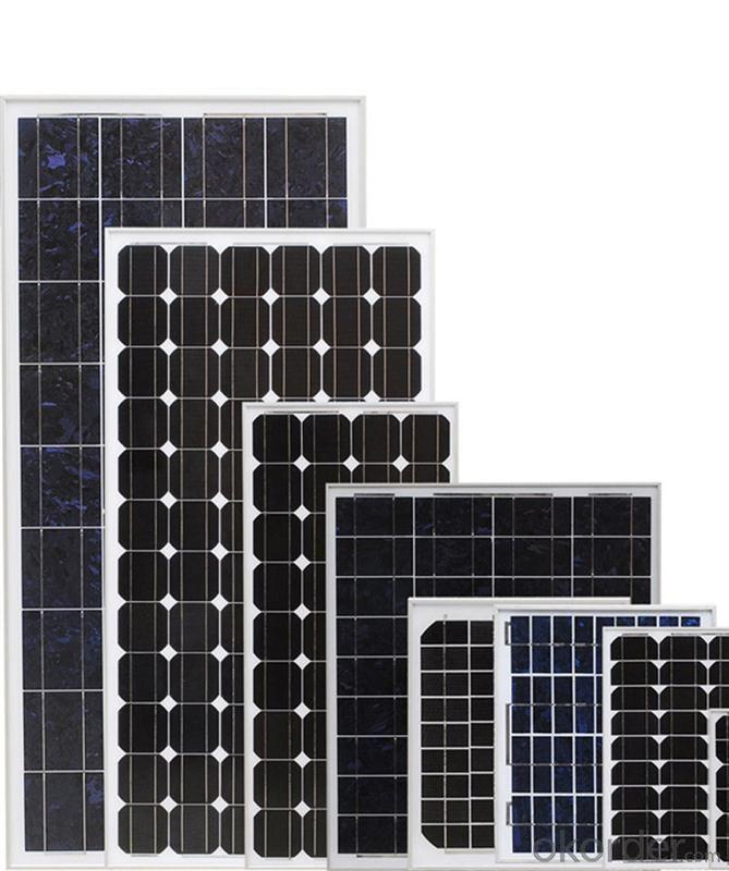 36V Monocrystalline Solar Panel 190W with TUV Certificate