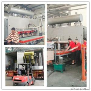 2800T Laminate Melamine Press Machine 1830*3660mm