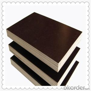 Poplar Core Brown Color Film Faced Plywood 18mm Thickness