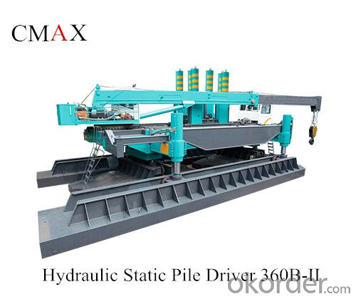 CMAX360B-II Series Hydraulic Static Pile Driver for Sale