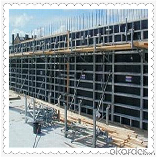 Poplar Core Film Faced Plywood for Construction Usage