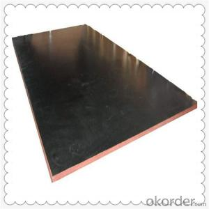 Black Film Faced Plywood with Poplar Core