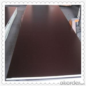 15mm Thickness Film Faced Plywood with Brown Color Film