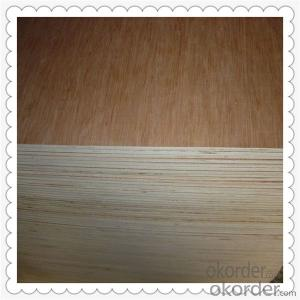 9mm Thickness Commercial Plywood for Outdoor Usage