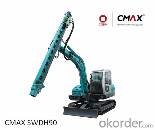 CMAX SWDH90 Hydraulic Rock Drill Sale on Okorder