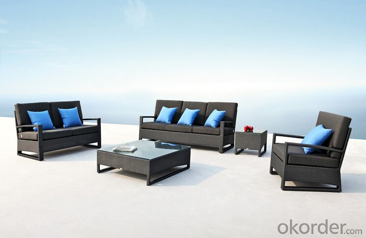 Outdoor Furniture Sofa Sets PE Rattan CMAX-WD0004