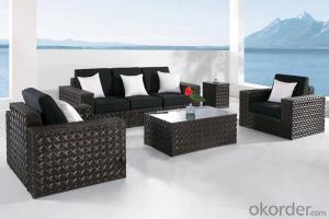 Outdoor Furniture Sofa Sets PE Rattan CMAX-WD0011