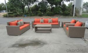 Outdoor Furniture Sofa Sets PE Rattan CMAX-WD0020