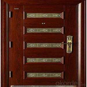 Apartment Buildings Bronze Door Entrance Copper Security Door