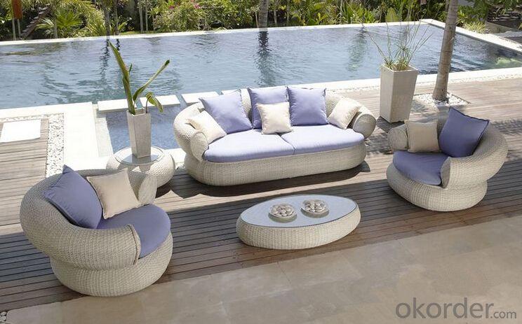Outdoor Furniture Sofa Sets PE Rattan CMAX-WD0009