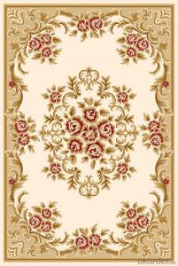 Machine Made Washable Wilton Floor Persian Rug