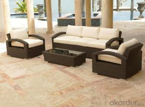 Outdoor Furniture Sofa Sets PE Rattan CMAX-WD0012