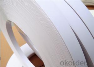 PVC Edge Banding Rolls White Edge Banding for Furniture