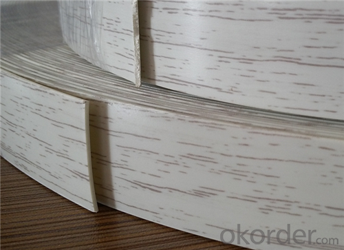 Plywood Pvc Plastic Furniture Edge Banding
