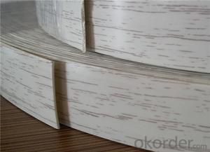 PVC Edge Banding Rolls for Furniture Use China Supplier