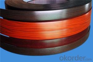 PVC Decorative Edge Banding, Mdf o Plywood Pvc Edge Banding tape
