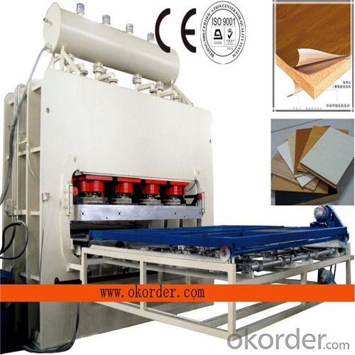 High gloss Melamine Laminate Hot Press Machine