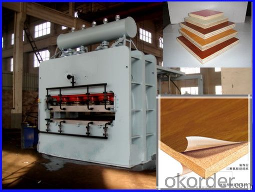 1600T Automatic Short Cycle Hot Press Machine for Furniture Board