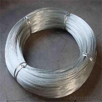 Hot Dipped Galvanized Iron Wire BWG 20, BWG22 High Quality Factory Price