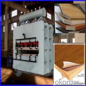Automatic 1600T Short Cycle Heat Press Machine for Plywood