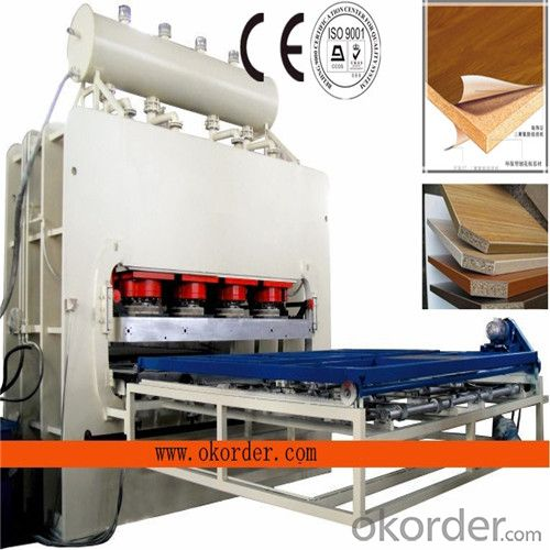 Melamine Embossed Laminating Press Machine