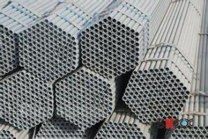 Galvanized  Hot Rolled Steel Pipe 1-4""