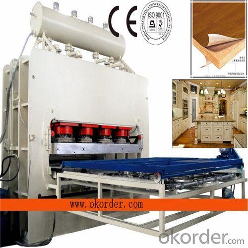 900-2500Ton One Layer Short Cycle Melamine Laminating Hot Press Machine