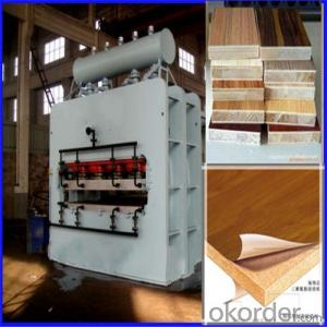 Furniture Decoration Short Cycle Melamine Laminating Hot Press Machine