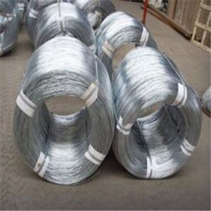 Electro/Hot Dipped Galvanized Iron Wire Low Carbon Steel Q195,Q235 Manufacturer
