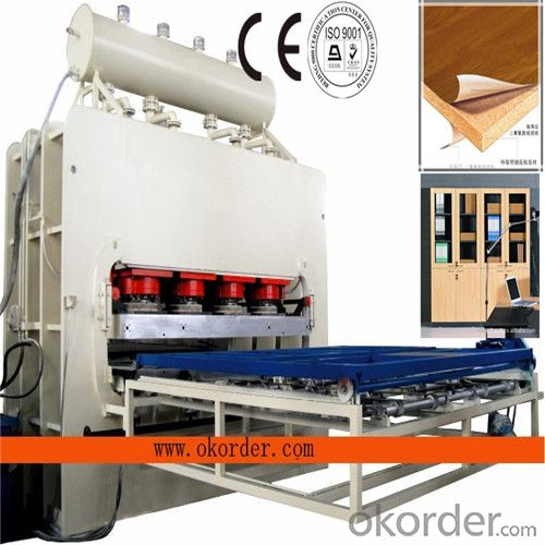 1600t Short Cycle Single Layer Furniture Board Press Machine