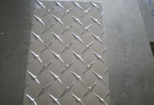 Five Bar Aluminum Sheet / Treadplate (Embossed, Stucco Sheet)