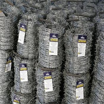 Galvanized Barbed Wire  Double Twist  High Quality BWG14*14 BWG16*16 200m/250m/400m/500m