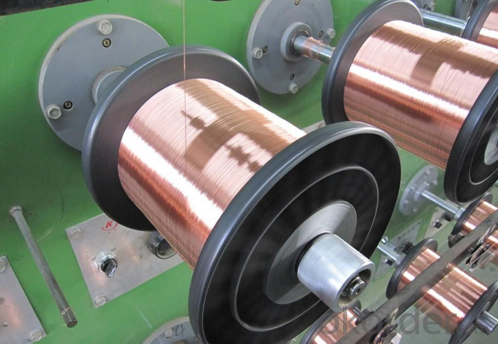 Physical Coating Copper Clad Aluminum Magnesium Wire