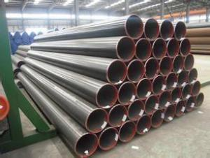 Seamless Hot Rolled Steel Pipe >114.3 MM