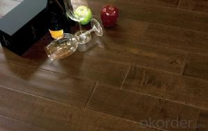 Oak Wide Plank Hardwood Flooring for House Usage