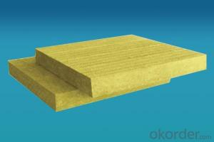 Fireproof Rock Wool Rock Wool Board with High Quality