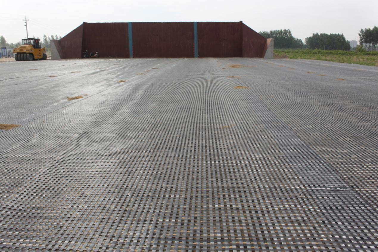 Fiberglass Geogrid Used for Basement Stabilization