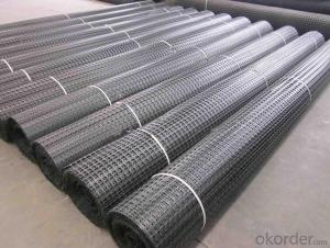 Fiberglass Geogrid Earthwork Coated with Anti-corrosive