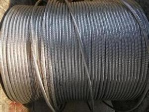 Galvanized Iron Wire Strand ASTM B 475-03 Zin Coating Class A