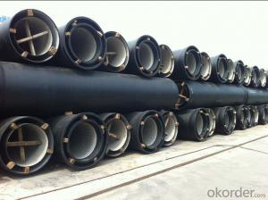 Ductile Iron Pipe Delivery Detail T type DN545 DN200