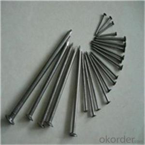 Gavanized Common Nail Low Carbon Steel Wire Q195 ,Q235