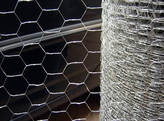 Galvanized Hexagonal Wire Netting after Weaving for Chicken Fencing