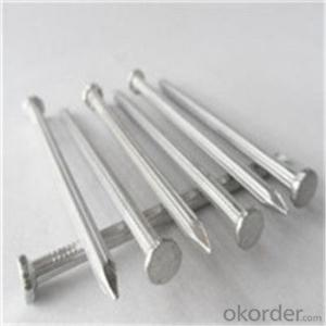 Galvanized Steel Concrete Nails White and Black Q195 or 235