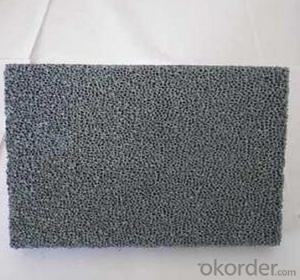 Casting Used Porous Alumina Ceramic Foam Filter for Foundry