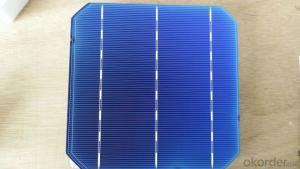 156x156mm 3BB Mono Solar Cells 6x6 with Sperior Quality
